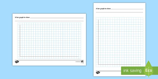 Bar Chart Template - bar graph, template, maths, designing graphs, column graph