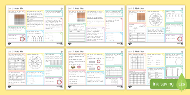New Zealand Level 3 Maths Activity Mats
