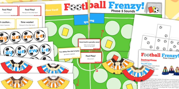 Phase 5 Sounds Football Board Game - phase five, world cup, pe