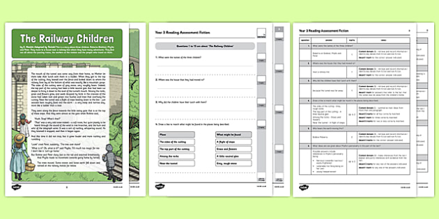 Year 3 Reading Assessment Fiction Term 3 - sats, summative, diagnostic, practice, sample