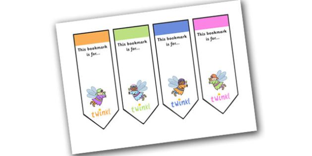 Editable Fairy Bookmarks - Bookmark, bookmark template, Fairies, Fairy, topic, fantasy, gift,  present, book, reward, achievement