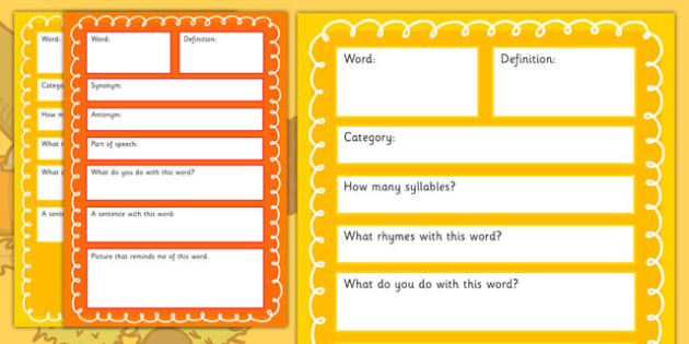 Harvest Pre-Teaching Vocabulary Maps - harvest, pre-teaching, vocabulary maps