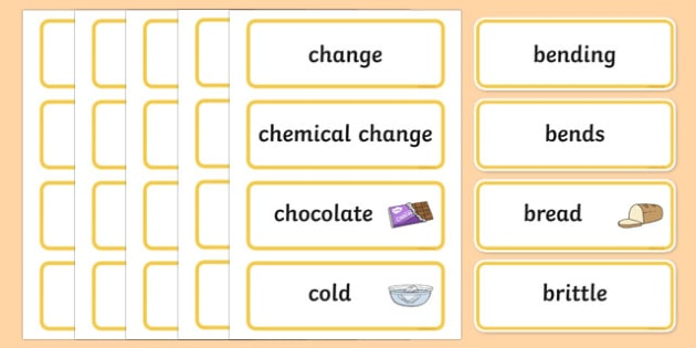 Spot The Difference Word Wall Display Cards - australia, Australian Curriculum, Spot The Difference, science, Year 1, word wall, display