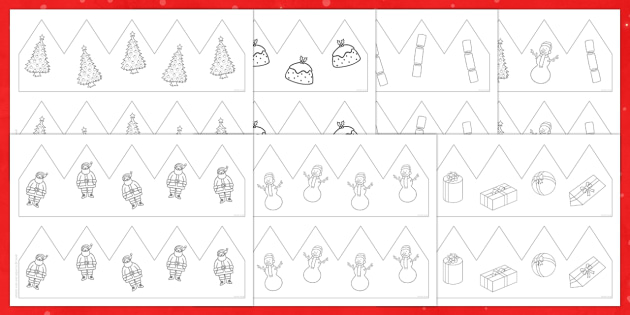 Christmas Party Hat Resource Pack