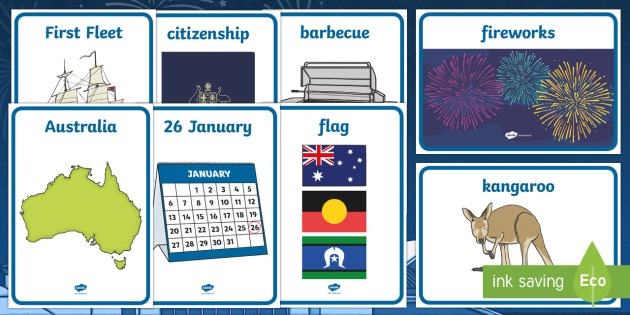 Australia Day Display Posters - australia, display, posters, day