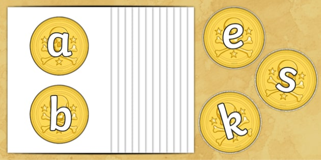 A Z on Gold Coins - a-z, alphabet, alphabet display, coins, money