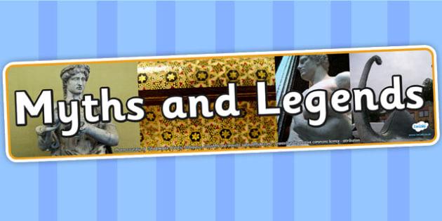 Myths and Legends Photo Display Banner - myths and legends, IPC display banner, IPC, myths and legends display banner, IPC display