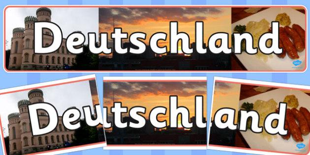 Deutschland Photo Display Banner - deutschland, photo, display banner