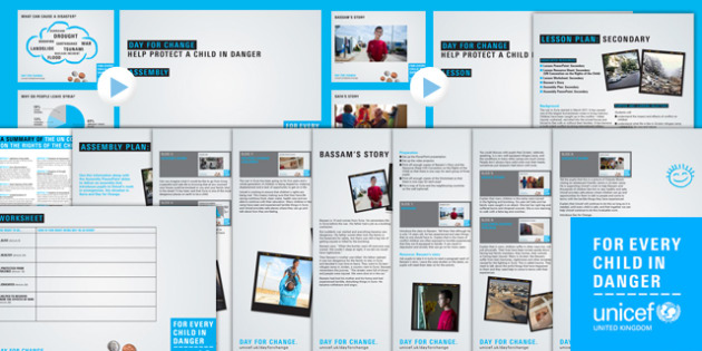 Unicef Day for Change 2016 Secondary Resource Pack