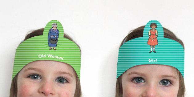 The Magic Porridge Pot Role Play Headbands - stories, role play