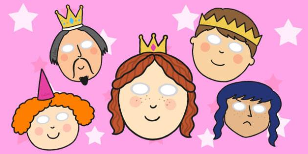 Sleeping Beauty Role Play Masks - sleeping beauty, role play, sleeping beauty role play, role play masks, masks, themed masks, role play props, dress up