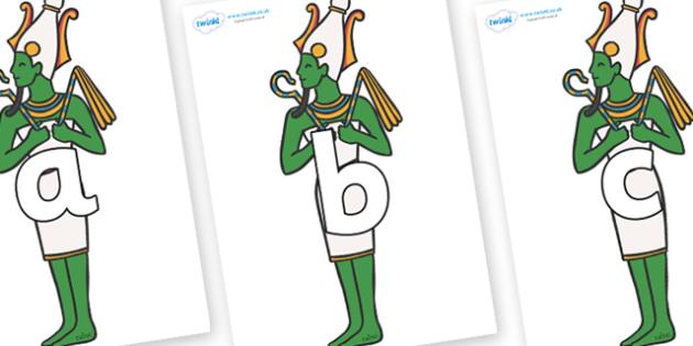 Phoneme Set on Egyptian Icons - Phoneme set, phonemes, phoneme, Letters and Sounds, DfES, display, Phase 1, Phase 2, Phase 3, Phase 5, Foundation, Literacy