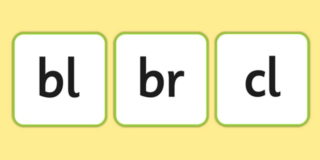Phase 4 Sounds on Word Tiles - phonics, letters and sounds, phonemes, graphemes, blends, consonant clusters, clusters