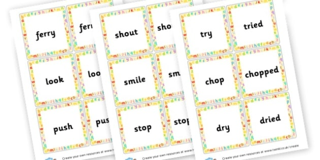 Suffix Matching Cards - Prefixes and Suffixes Primary Resources, Words and Vocabulary