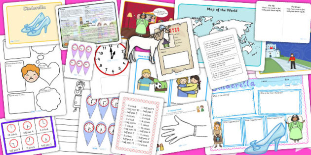 Cinderella KS1 Lesson Plan Ideas and Resource Teaching Pack