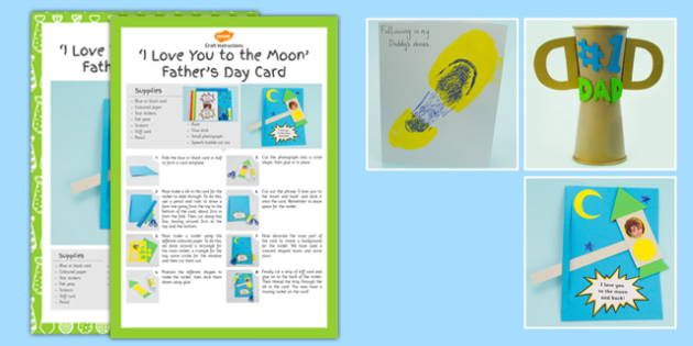 Father's Day Craft Activity Pack - fathers day, craft, activity, pack
