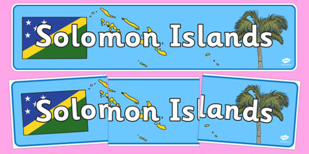 Solomon Islands Display Banner - Solomon Islands, Olympics, Olympic Games, sports, Olympic, London, 2012, display, banner, sign, poster, activity, Olympic torch, flag, countries, medal, Olympic Rings, mascots, flame, compete, events, tennis, athlete,