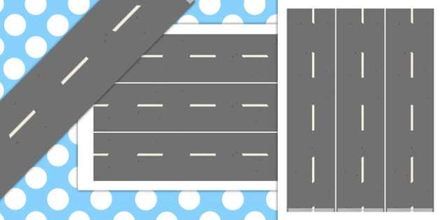 Road Display Borders - road, display borders, display, borders