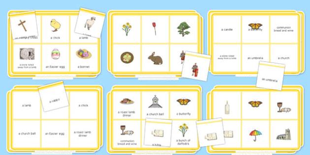 Elderly Care Easter Bingo - Elderly, Reminiscence, Care Homes, Easter