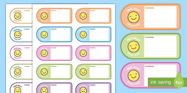 Teacher/Parent Comment Cards - teacher comments, award certificates, reward, award, certificate, rewards, school reward, parent comments