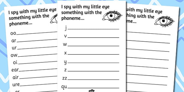 Phase 3 Phoneme Hunt Activity Sheet Pack - activity, sheets, phoneme, worksheet
