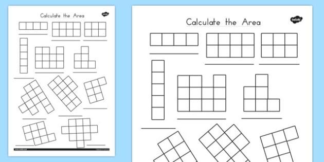 Calculate the Area Worksheets - australia, calculate, area, sheet