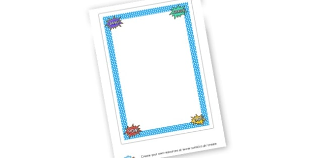 Superhero Themed Poem Template - Superheroes Writing Frames and Aids Primary Resources, Frames