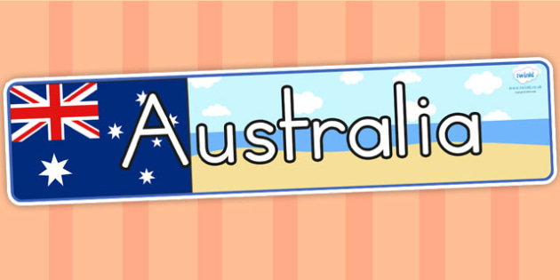 Australia Display Banner - australia, australia display, banner