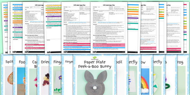 EYFS Spring Craft Activity and Accompanying Planning Pack - activity, pack