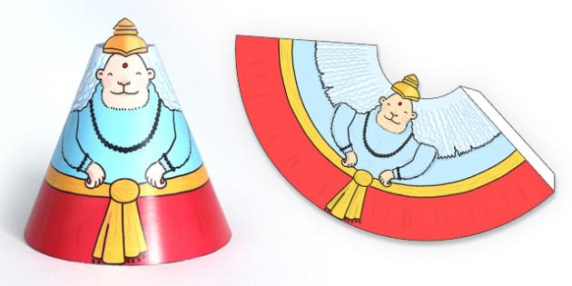 Diwali Cone Character Hanuman - Diwali, Cone, Hanuman, Story