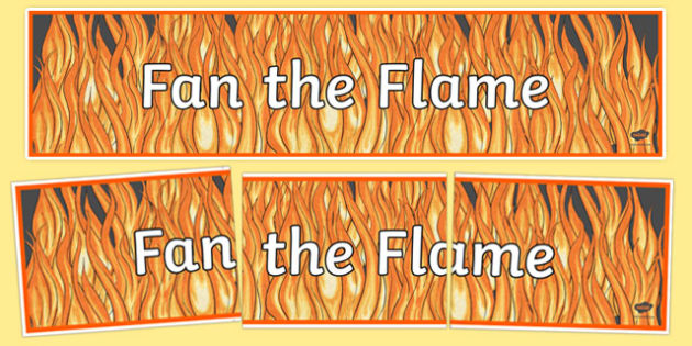 Fan the Flame, Confirmation Display Banner