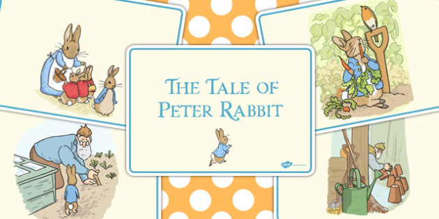 The Tale of Peter Rabbit Story Sequencing - peter, rabbit, story