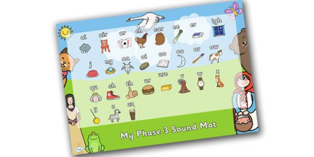 Traditional Tales Themed Phase 3 Sound Mat - traditional tales, phase 3, phase three, sounds, sound mat, letters and sounds, phonics, phonemes, graphemes