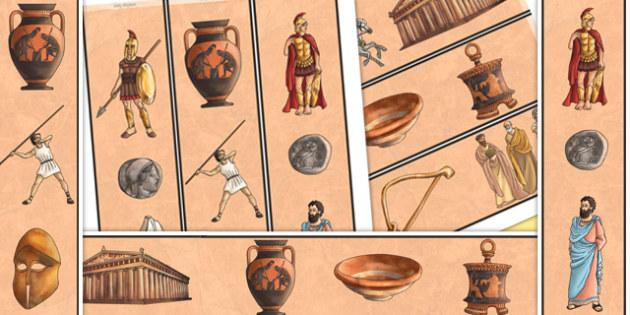 Ancient Greece Display Borders - ancient greece, greece, borders