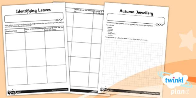 PlanIt - Art LKS2 - Autumn Home Learning Tasks