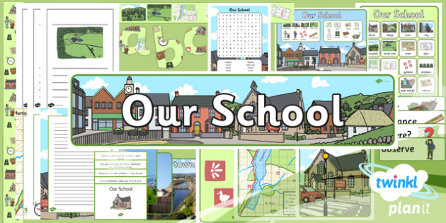 PlanIt Geography Year 1 Our School Unit Additional Resources