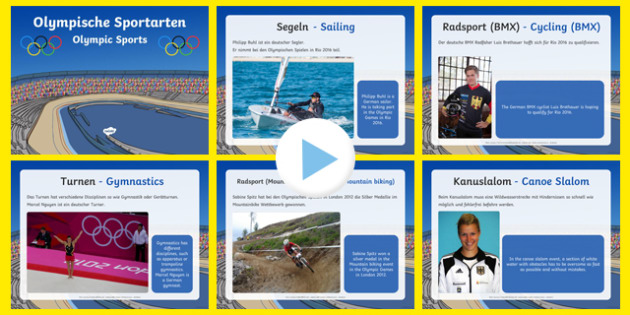 Olympic Sports PowerPoint