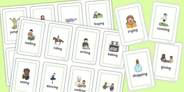 Two Syllable Final 'ng' Sound Flash Cards - final ng, sound, flash cards