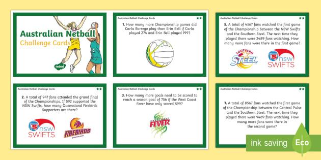Australian Year 3-4 Subtraction Word Problems Maths Challenge Cards-Australia