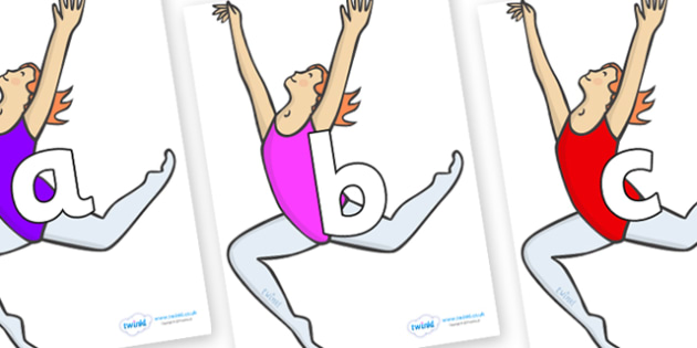 Phoneme Set on Ballet Dancers - Phoneme set, phonemes, phoneme, Letters and Sounds, DfES, display, Phase 1, Phase 2, Phase 3, Phase 5, Foundation, Literacy
