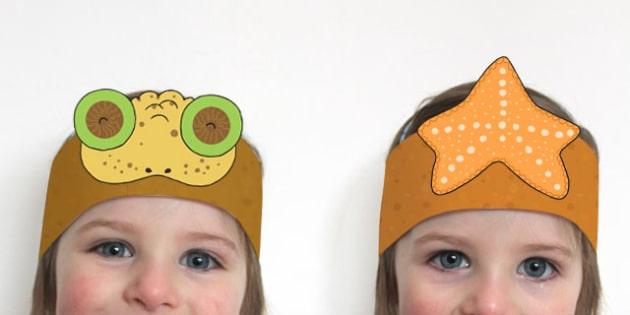 Minibeasts Roleplay Headbands - role play, props, minibeasts