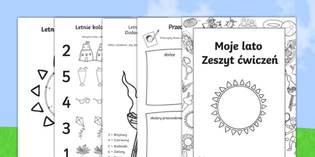 Letni Zeszyt ćwiczeń po polsku