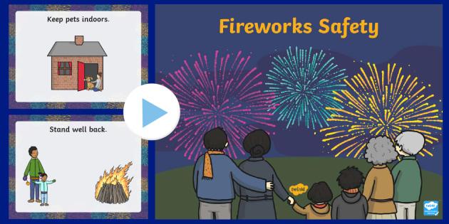 Fireworks Safety PowerPoint