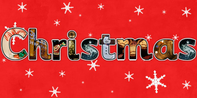 Merry Christmas Photo Display Lettering - christmas, letters, lettering