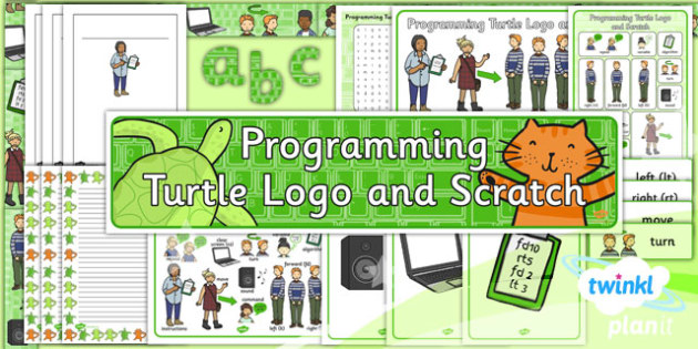 PlanIt - Computing Year 2 - Programming Turtle Logo and Scratch Unit Additional Resources
