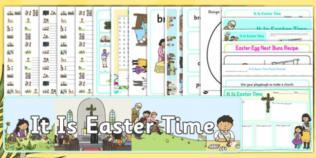 It Is Easter Time Story and Resource Pack - EYFS, KS1, Early Years, festival, celebration, Understanding the World, Literacy, Christianity