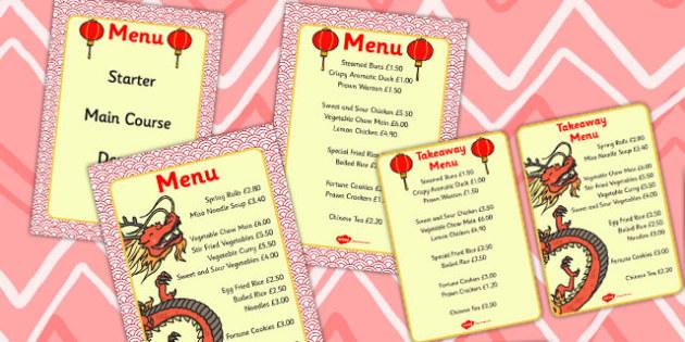 Chinese Restaurant Price Menu - chinese, restaurant, price, menu