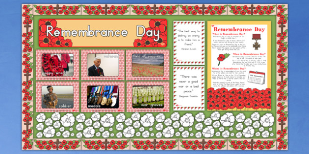 Ready Made Remembrance Day Display Pack - australia, remembrance