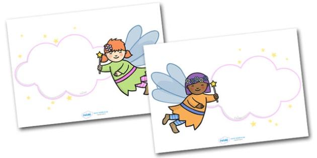 Editable Fairy Display Posters - Fairies, Fairy, topic, fantasy, display, poster, editable, label, fairy display