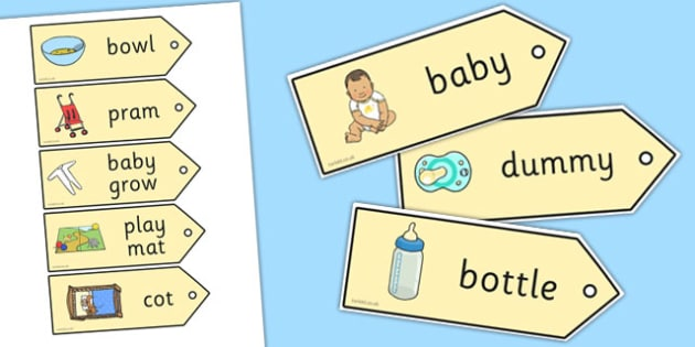 Baby Labels - babies, children, growth, growing, ourselves, signs